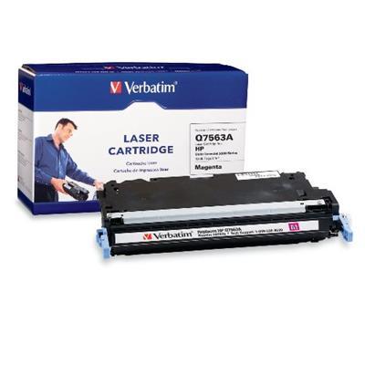 Verbatim 95546 HP Q7563A Magenta Remanufactured Laser Toner Cartridge