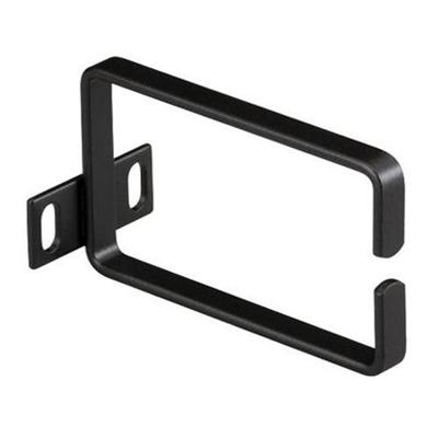 Black Box RMB021 Rackmount Ring Bracket - Rack cable management ring - 1U