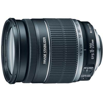 Canon 2752B002 EF-S 18-200mm f/3.5-5.6 IS Standard Zoom Lens