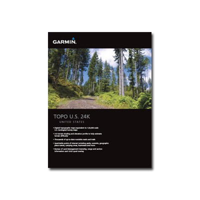 Garmin International 010-c0950-00 Topo U.s. 24k Mountain Central - Maps