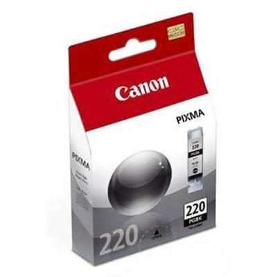 Canon 2945B001 PGI-220 - Pigmented black - original - ink tank - for PIXMA iP3600  iP4700  MP540  MP550  MP560  MP620  MP630  MP640  MP980  MP990  MX8