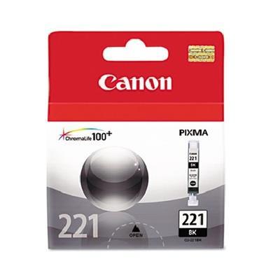 Canon 2946B001 CLI-221 - 9 ml - black - original - ink tank - for PIXMA iP3600  iP4600  iP4700  MP560  MP620  MP640  MP640R  MP980  MP990  MX860  MX87