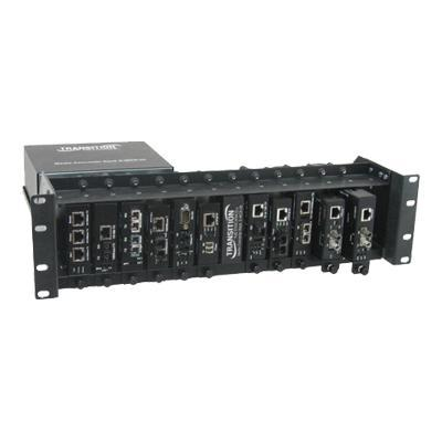 Transition E-MCR-05-NA Media Converter Rack E-MCR-05 - Modular expansion base - 3U
