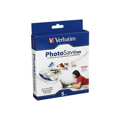 Verbatim 96728 PhotoSave DVD - 5 x DVD-R - slim jewel case