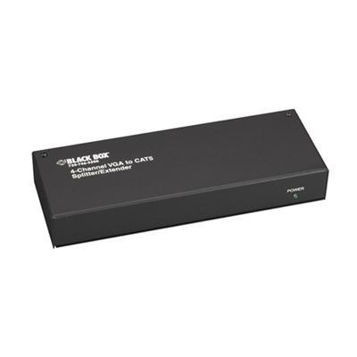 Black Box AC601A Mini CAT5 Splitter/Extender Transmitter  VGA 4-Channel - Monitor extender