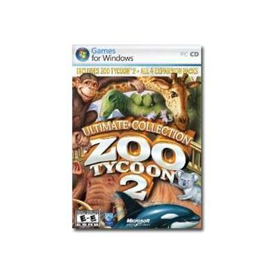 Microsoft AXB-00065 Zoo Tycoon 2: Ultimate Collection - Win - CD ( DVD case ) - English - North America