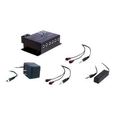 Cables To Go 40430 Infrared Remote Control Repeater Kit - Repeater Kit - Black