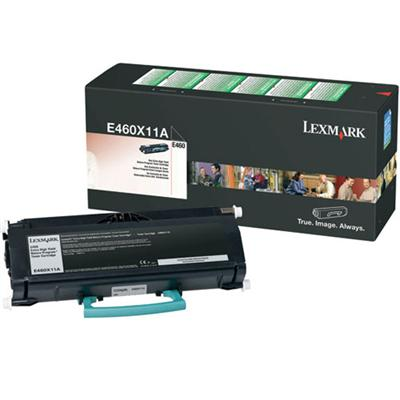 Click here for Lexmark E460X11A Extra High Yield - black - origin... prices
