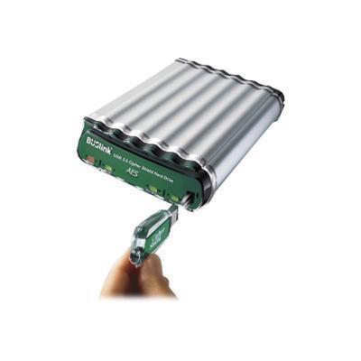 Buslink Media CSE-2T-U2 CipherShield Encrypted CSE-2T-U2 - Hard drive - 2 TB - external (desktop) - USB 2.0