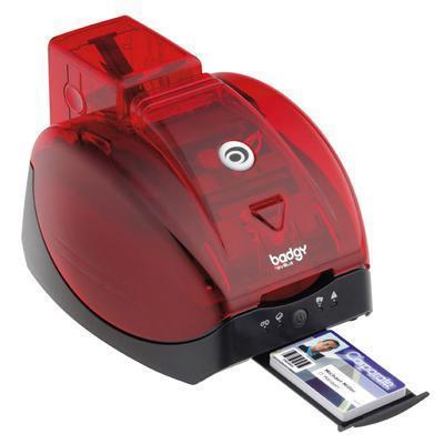 Badgy Plastic Card Printer - Plastic Card Printer - Color - Dye Sublimation/thermal Transfer