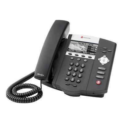 Polycom 2200-12450-001 SoundPoint IP 450 - VoIP phone - SIP - multiline