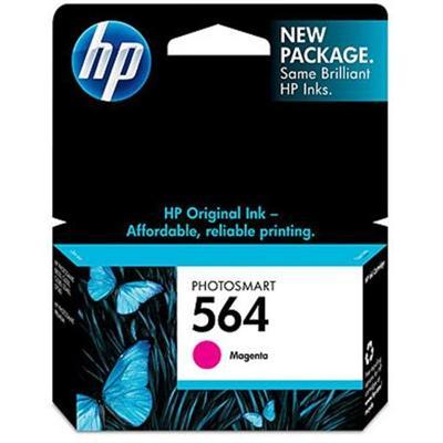 HP Inc. CB319WN#140 564 - 3 ml - magenta - original - ink cartridge - for Deskjet 35XX  Photosmart 55XX  55XX B111  6520  65XX B211  75XX  75XX C311  eStation C