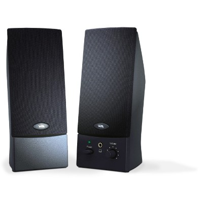 Cyber Acoustics CA-2011WB 2.0 Powered Speaker System