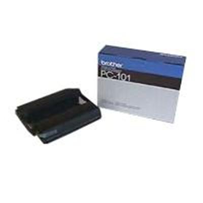 Brother PC-101 PC101 - 1 - black - print ribbon - for IntelliFAX 1250  1350M  1450MC  1550MC  MFC 1750  1850MC  1950MC  1950MC Plus