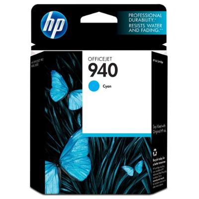 HP Inc. C4903AN#140 940 - Cyan - original - blister - ink cartridge - for Officejet Pro 8000  8500  8500 A909a  8500A  8500A A910a