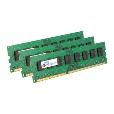 Edge Memory PE21573603 6GB (3X2GB) PC3-10600 DDR3 240-PIN Unbuffered Non-ECC Memory Kit