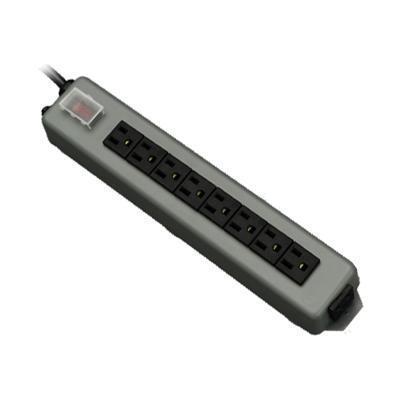 TrippLite UL17CB-15 Waber Power Strip 120V 5-15R 9 Outlet Metal 15' Cord 5-15P - Power distribution strip - 15 A - AC 120 V - input: NEMA 5-15 - output connecto