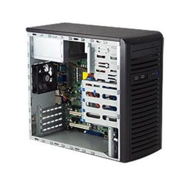 Super Micro CSE-731I-300B Mid tower - Micro ATX - Power Supply 300 Watts - Black - USB