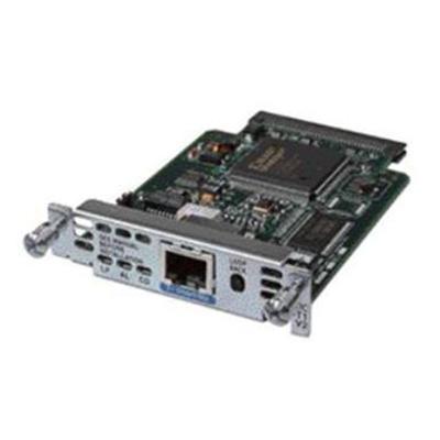 Cisco HWIC-1DSU-T1= DSU/CSU - HWIC - 1.544 Mbps - T-1 - for  1841  1841 3G  1841 ADSL2  1941  2801 2-pair  28XX  28XX 4-pair  29XX  38XX  39XX