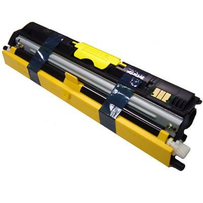 Konica Minolta - High Capacity - yellow - original - toner cartridge - for magicolor 1600W  1650EN  1650EN-d  1650EN-dt  1680MF  1690MF  1690MF-d  1690MF-dt