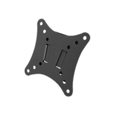 Discount Electronics On Sale SIIG CE-MT0012-S1 LCD TV/Monitor Fixed Mount - Mounting kit ( wall bracket ) for LCD TV - steel - black powder coat - screen size: 10 - 24 - mounting interface:
