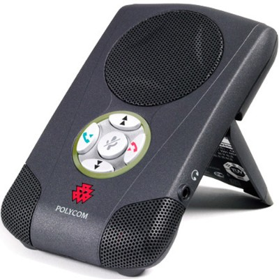 Polycom 2200-44240-001 CX100 Speakerphone - USB VoIP desktop hands-free - charcoal gray