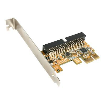 StarTech.com PEX2IDE 1 Port PCI Express IDE Controller Adapter Card - Storage controller - ATA - 133 MBps - PCIe x1