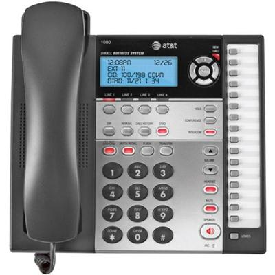 AT&T 1080 4-Line Answering System with Caller ID / Call Waiting