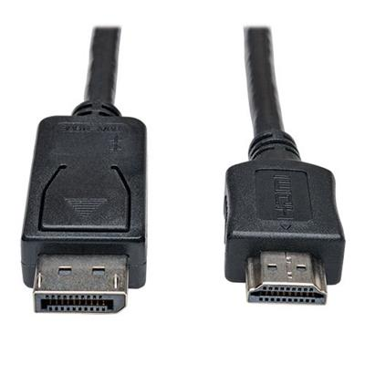 TrippLite P582-006 DisplayPort to HD Cable Adapter HDCP 1080P M/M 6' 6ft