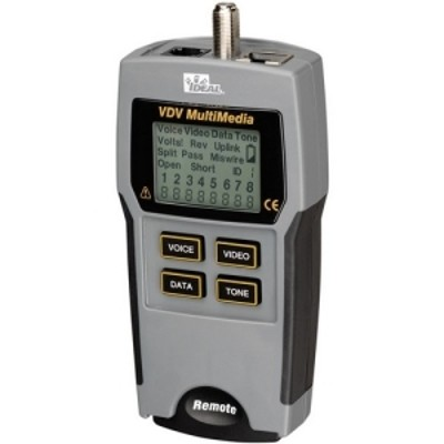 Ideal Industries 33-856 Vdv Tester Multimedia Coax