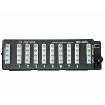 8-PORT TELEPHONE 110IDC WIRING MODULE