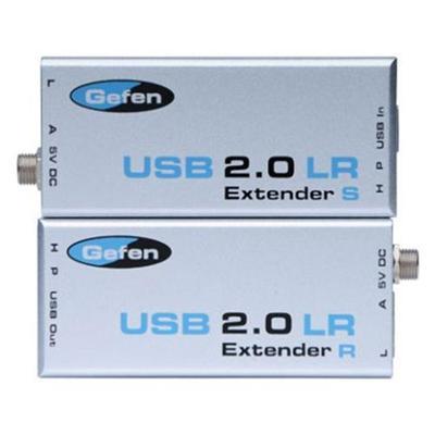 Gefen EXT-USB2.0-LR USB 2.0 LR Extender - USB extender - up to 328 ft