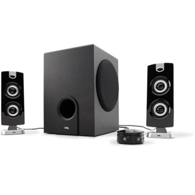 Cyber Acoustics Ca-3602 Ca-3602 - Platinum - Speaker System - For Pc - 2.1-channel - 30 Watt (total)