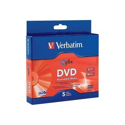Verbatim 96747 5 x DVD-R - 4.7 GB 8x - slim jewel case