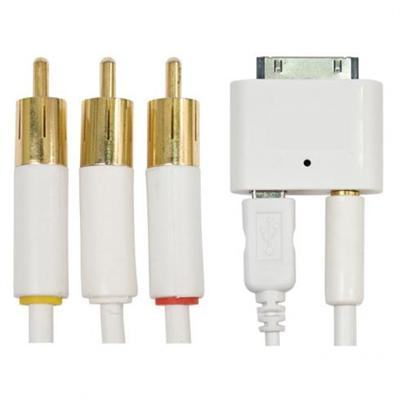 I.sound Iphone / Ipod Audio / Video Cable Kit