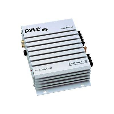 Pyle PLMRA120 PLMRA120 2 Channel 240 Watt Waterproof Marine Amplifier