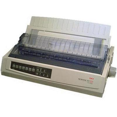 Oki 62415501 Microline 321 Turbo/n - Printer - monochrome - dot-matrix - 240 x 216 dpi - 9 pin - up to 435 char/sec