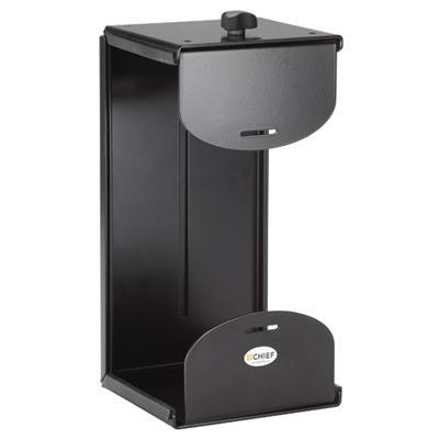 Chief KSA1020B KSA1020B - Mounting kit (wall mount  desk mount) for personal computer - black