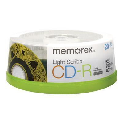 Memorex - CD-R x 20 - 700 MB by Imation