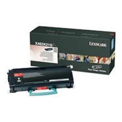 X463X21G Lexmark™ X463X21G Extra-High-Yield Laser Toner Cartridge; Black