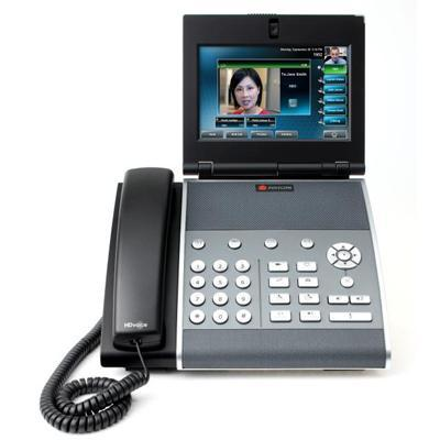 Polycom 2200-18061-025 VVX 1500 6-LINE BUSINESS MEDIA PHONE W/ VIDEO CAPABILITY AND HD Voice