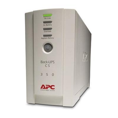 APC BK350EI BACK-UPS CS 350 VA USB AND SER INTERNATIONAL