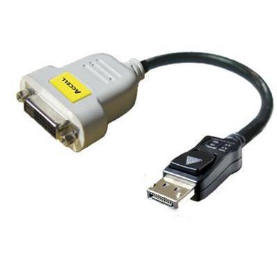 Accell B087B 001B UltraAV Video adapter DisplayPort DVI DisplayPort M to DVI D F 9.8 in triple shielded