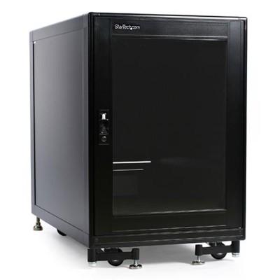 StarTech.com 2636CABINET 15U 19in Black Server Rack Cabinet with Fans