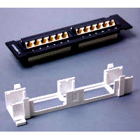 StarTech.com PANEL4512 12-port Patch Panel AT&T 110 A+B - 45 degree