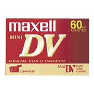 Maxell 298017 Mini DV DVM-60 - Mini DV tape - 1 x 60min