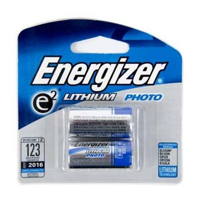 Energizer El123apb2 E2 Photo El123 - Camera Battery 2 X Cr17345 Li 1500 Mah