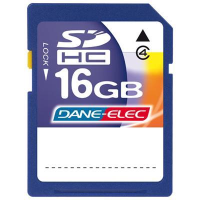 Dane-Elec DA-SD-16GB-R 16GB High Speed Secure Digital (SD) Card