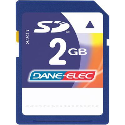 Flash memory card - 2 GB - SD