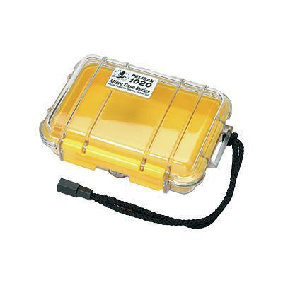 Pelican Products 1020-027-100 Micro Case 1020 - Case - yellow
